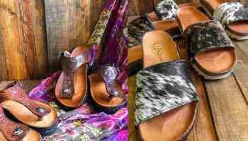 stiefeld sandals COWGIRL Magazine