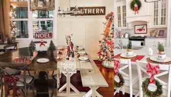antique farmhouse holiday decor