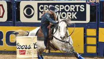 stevi hillman barrel racing cowgirl magazine