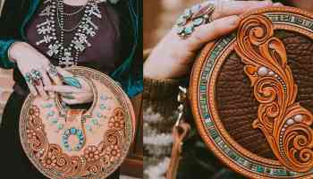 western skies handmade cowgirl magazine seeing circles circle purses cowgirl magazine