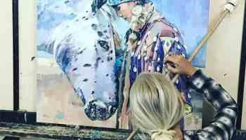 harper henry Artist's Choice Award winner cowgirl magazine