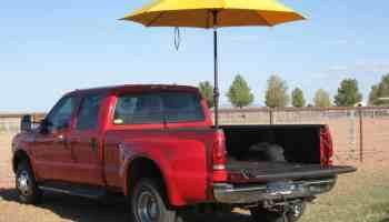 tailgate umbrella tailgate patio cowgirl magazine