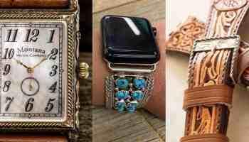 watches watch ways to spruce up your watch cowgirl magazine Jason Becker custom leather wild horse Watchin brands Montana watch company
