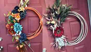 rope wreath Jameson rope co cowgirl magazine