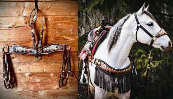 Pendleton Tack set cowgirl magazine