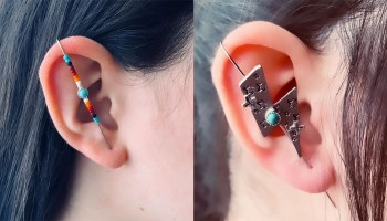 gunville designs ear pins cowgirl magazine