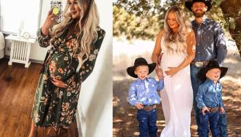mcginn party of five Rachel Joi pregnant cowgirl magazine