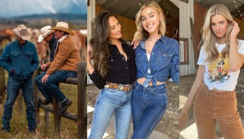 behind the scenes at wrangler's shoot cowgirl magazine
