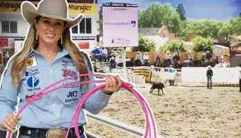 Jackie Crawford Cheyenne frontier days cowgirl magazine