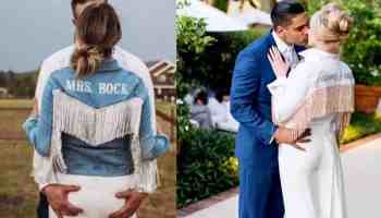 bridal jean jacket mrs Rock Paper Scissors denim cowgirl magazine