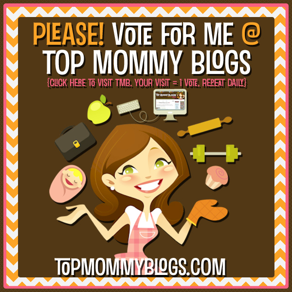 Very Excited to be listed at Top Mommy Blogs!