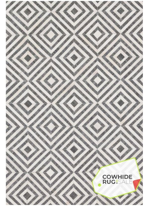 grey and white diamond rug
