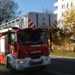 Mnóstwo straży pożarnej w Krakowie. Mogą występować utrudnienia w ruchu