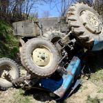 Tragiczny wypadek niedaleko Krakowa. Mężczyzna został przygnieciony przez traktor