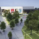 Rewitalizacja terenów wokół Nowohuckiego Centrum Kultury