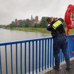 Strażnicy miejscy monitorują stan rzek i potoków na obszarze całego miasta