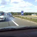 Nagranie ku przestrodze na autostradzie A4. Kierowco! Zachowaj bezpieczny odstęp