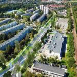 Już niedługo Prądnik Biały stanie się przykładem dobrze zaprojektowanej dzielnicy przyszłości?