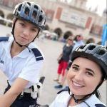 Patrole rowerowe już od miesiąca pełnią służbę w Krakowie