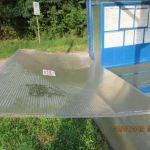 27-latek zdewastował przystanek autobusowy