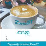 Trzecia edycja akcji Zamiast organizowanej przez Fundację Agenor odbędzie się pod tytułem Kawa Zamiast.