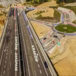 Zmieniono organizację ruchu na oddanym niedawno odcinku drogi ekspresowej S7