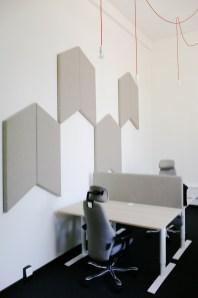 Bureaux privatif avec 4 bureaux design