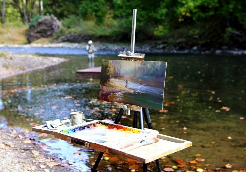 Spring On the Cowpasture River | An Artist RetreatMay 2-4, 2021