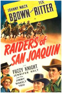 Raiders Of San Joaquin (Movie Poster)