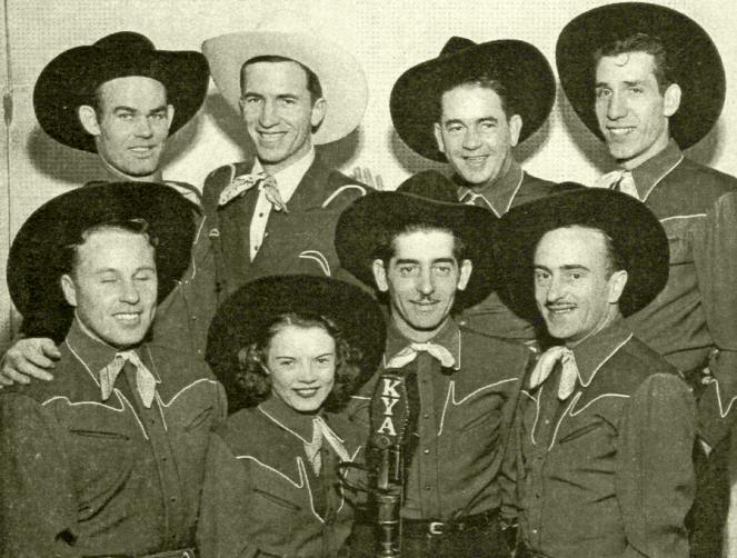 Dude Martin and his  band, circa 1945