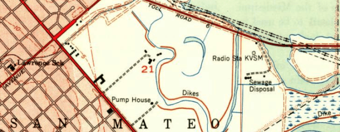KVSM San Mateo Map (Image)