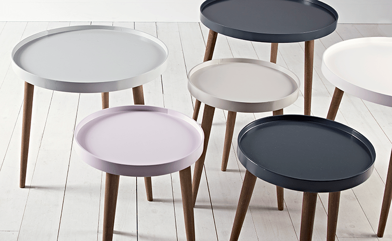 Dining Tables, Metal & Wooden Coffee Tables & Small Round