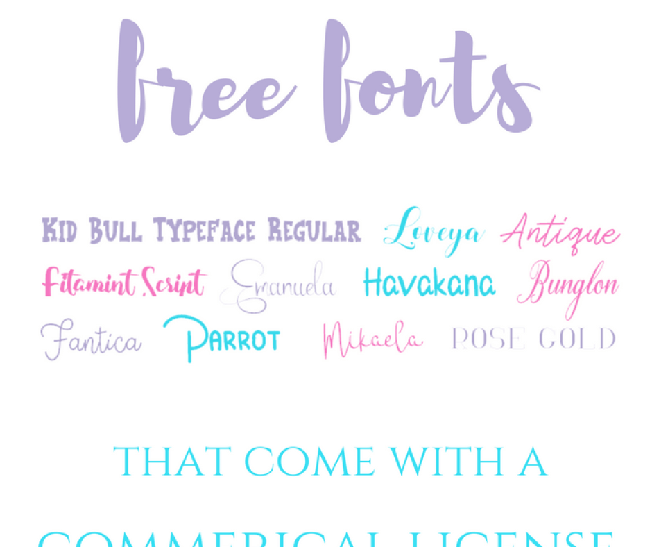 Best Site for Free Fonts for Commercial Use