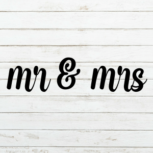 Mr Mrs SVG - Wedding Svg - Engagement Svg- Future Mrs. Svg - Cricut - Cameo - Cutting File - Png svg dxf eps - diy bride - Commercial use