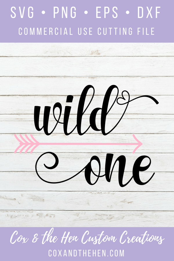 Wild One Svg - First Birthday - Birthday Svg - 1st Birthday - Cricut - Cameo - Cutting File - Png Svg Dxf Eps - Arrow - Tribal - Boho - coxandthehen