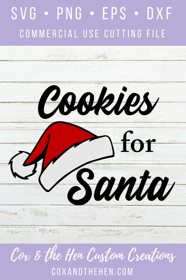 Cookies for Santa Christmas SVG - christmas svg - santa plate - cookies for santa - milk and cookie set - santa bottle - cookie plate