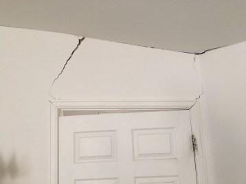 Door racked
