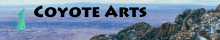 Coyote Arts web banner