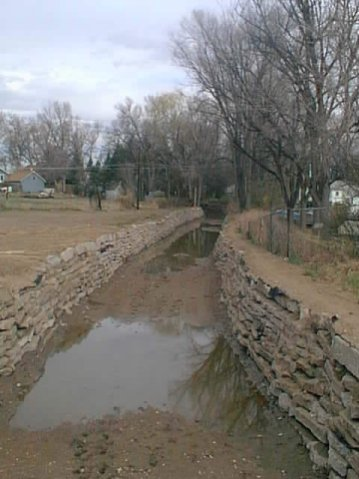 Greeley irrigation ditch