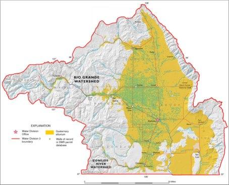 Rio Grande River Basin via the Colorado Geologic Survey