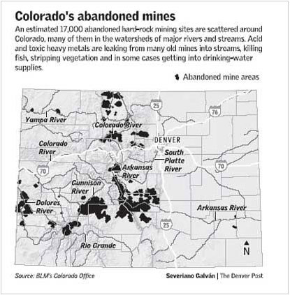 Colorado abandoned mines