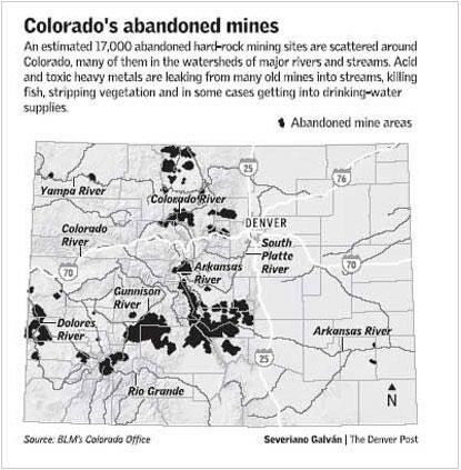Colorado abandoned mines