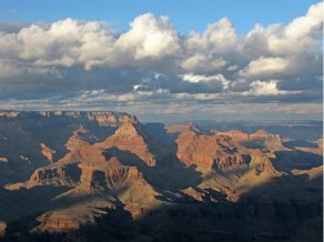 Grand Canyon from Grandview Point January 24, 2009 via the National Park Service