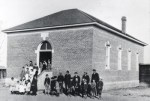 Arvada School circa 1888 photo via ArvadaHistory.org