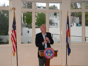 Mark Udall, Colorado Foundation for Water Education, President's Award Reception,