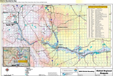 Fryingpan-Arkansas Project via the Southeastern Colorado Water Conservancy District