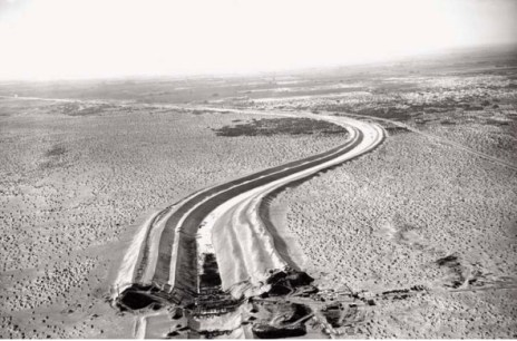 All American Canal Construction circa. 1938 via the Imperial Irrigation District