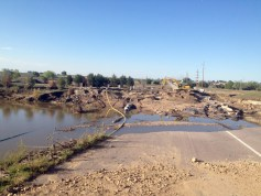 Weld County Road 13 September 26, 2013 via the Town of Firestone