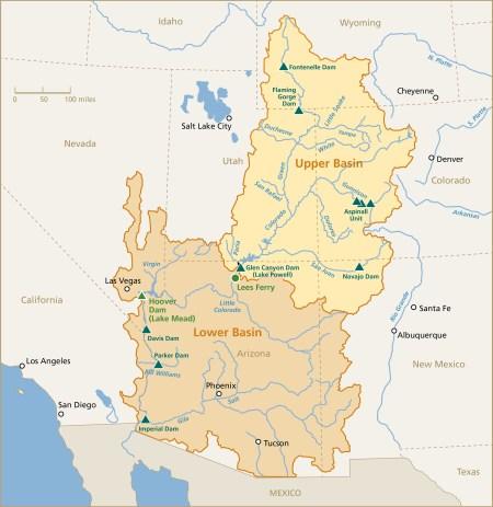 Colorado River Basin via Rand JIE
