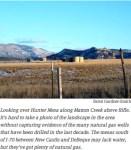 Looking over Hunter Mesa along Mamm Creek above Rifle via Aspen Journalism